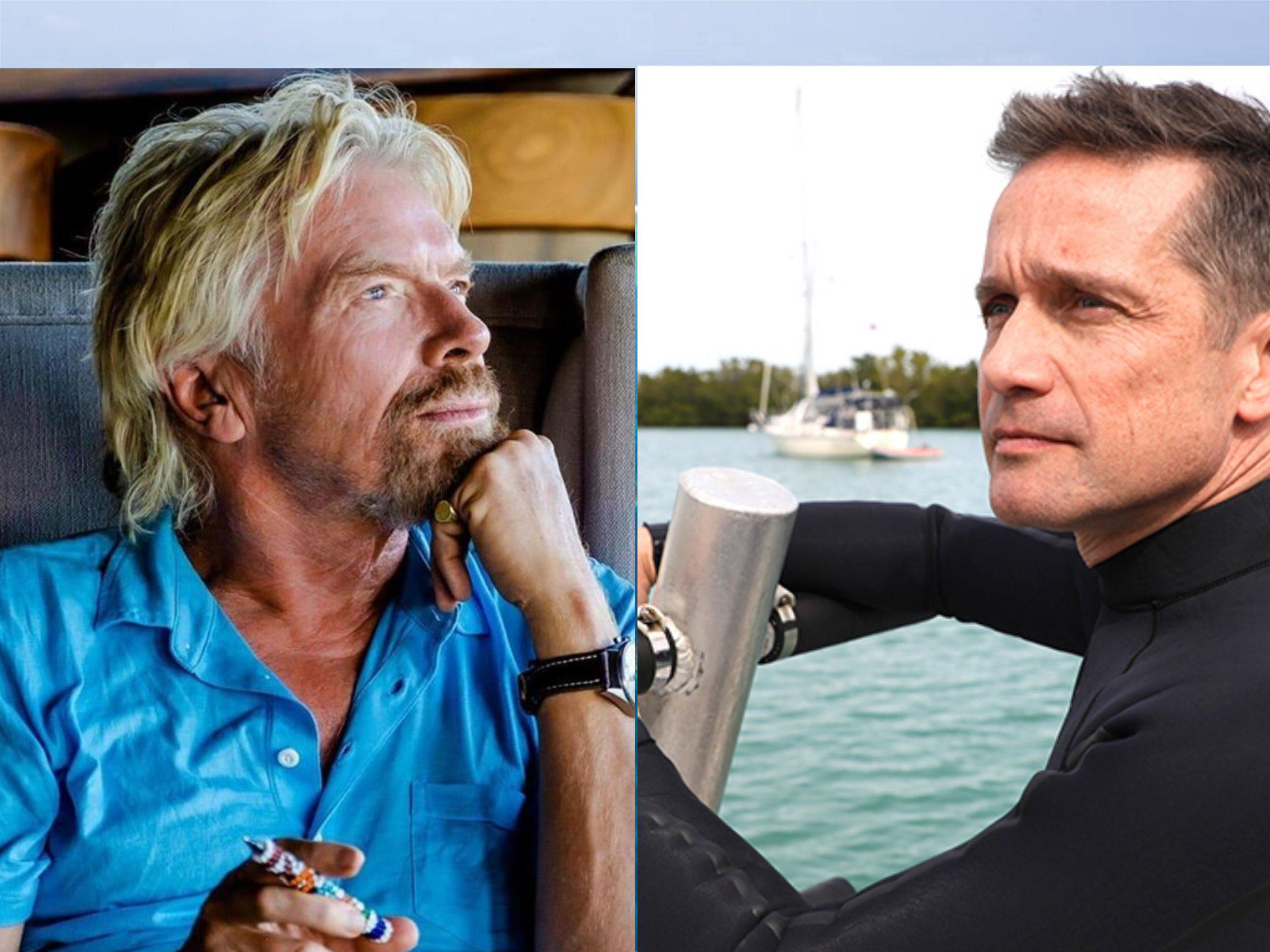 Richard Branson & Fabien Cousteau