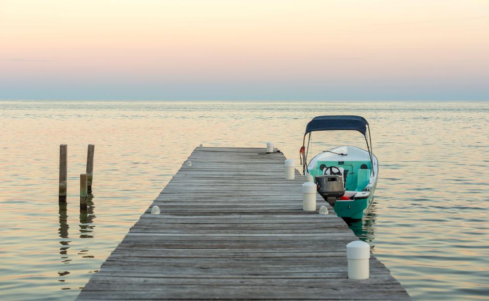 Long Caye Boats