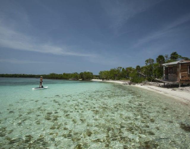 Paddle Boarding Belize