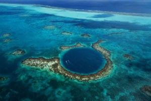 Great Blue Hole Belize world heritage site